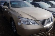 Used Lexus ES 350 Foreign 2008 Model Gold for Sale