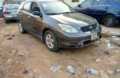 Used Toyota Matrix Gray 2005 Model for Sale