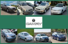 The evolution of Toyota Camry from 1982 to date (Photos & Facts)