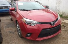 Foreign used Toyota corolla LE 2015 model