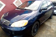 Used Toyota Corolla Foreign 2004 Model Blue