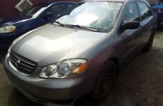 Used Toyota Corolla Foreign 2004 Model Silver
