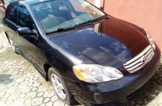 Used Toyota Corolla Foreign 2003 Model Black