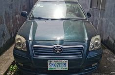 Toyota Avensis 2005 Model Nigeria Used Green for Sale