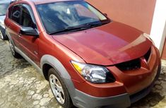 Pontiac Vibe 2003 Model Foreign Used Red for Sale