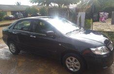 Used Toyota Corolla Nigeria 2007 Model Black