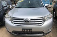 Toyota Highlander SUV Foreign Used 2013 Model Silver