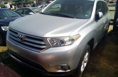 Toyota Highlander SUV Foreign Used 2012 Model Silver