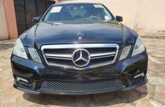 Mercedes Benz E350 2011 Model Foreign Used Black