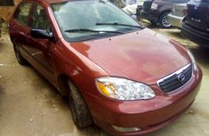 Used Toyota Corolla Foreign 2008 Model Red