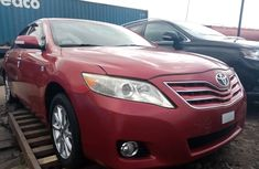 Used Toyota Camry Foreign 2010 Model Red for Sale