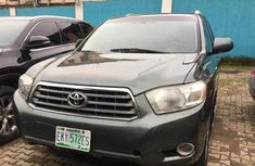 Toyota Highlander SUV Nigeria Used 2009 Model Grey
