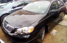 Used Toyota Corolla Foreign 2005 Model Black