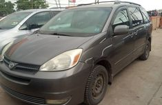 Toyota Sienna 2005 Model Foreign Used Brown