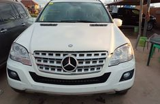 Mercedes Benz ML350 Foreign Used 2009 Model White