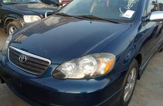 Used Toyota Corolla Foreign 2005 Model Blue