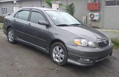 Toyota Corolla for Sale in Lagos Tokunbo Gray 2004 Model