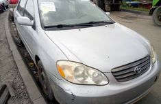 Used Toyota Corolla Foreign 2006 Model Silver