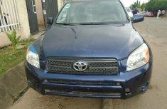 Toyota Rav4 2008 Model Foreign Used V4 Blue