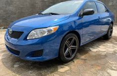 Used Toyota Corolla Foreign 2010 Model Blue for Sale