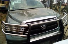 Toyota Tundra 2011 Model Foreign Used Green for Sale