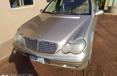 Used Mercedes Benz C240 Nigeria 2003 Model Gold