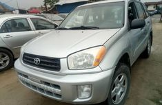 Toyota RAV4 2003 Model Foreign Used  Silver for Sale