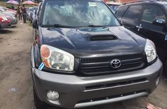 Toyota RAV4 2005 Model Foreign Used Black for Sale