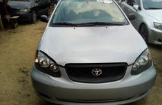 Used Toyota Corolla Foreign 2007 Model Silver