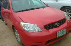 Very Clean Nigerian used Toyota Matrix 2006