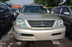 Foreign Used Lexus GX 2008 Model Gold