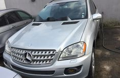 Tokunbo Mercedes-Benz ML 500 2008 Model Silver