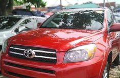 Toyota RAV4 2010 Model Foreign Used Red Jeep