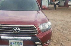 Toyota Highlander SUV Nigeria Used 2010 Model Red