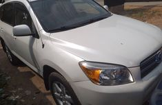 Toyota RAV4 Limited 2008 Model Nigeria Used White