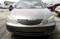 Nigeria Used Toyota Camry 2003 Model Gray