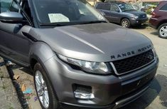 Foreign Used Land Rover Range Rover Evoque 2013 Model Gray