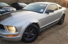 Foreign Used Ford Mustang 2006 Model Silver
