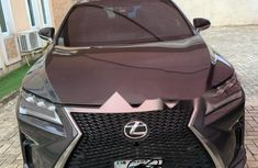 Well Maintained Nigerian used 2017 Lexus RX