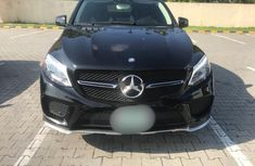 Nigeria Used Mercedes-Benz GLE 2017 Model Black
