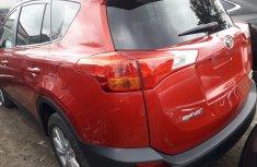 Foreign Used Toyota RAV4 2014 Model Red