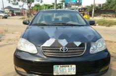 Very Clean Nigerian used Toyota Corolla 2006