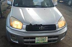 Nigeria Used Toyota RAV4 2003 Model Silver