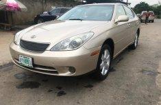 Nigeria Used Lexus ES 2006 Model Gold