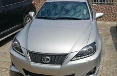 Foreign Used Lexus IS 2011 Model Silver