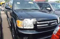 Foreign Used Toyota Sequoia 2004 Model Black