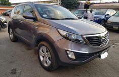 Nigeria Used Kia Sportage 2010 Model Gray