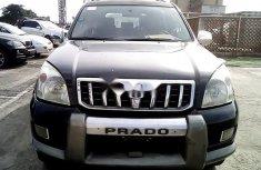 Nigeria Used Toyota Land Cruiser Prado 2005 Model Black