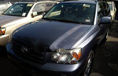 Foreign Used 2006 Toyota Highlander for sale