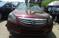 Foreign Used Honda Accord 2011 Model Red